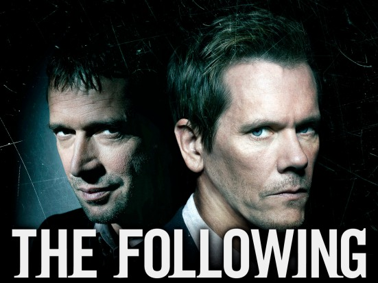 THE FOLLOWING: A fast-paced psychological thriller that follows  former FBI agent Ryan Hardy (Kevin Bacon, R), who is called out of retirement to track down a devious and diabolical serial killer (James Purefoy, L), and the mastermind behind an ever-growing web of killers in the new drama THE FOLLOWING premiering Monday, Jan. 21 (9:00-10:00 PM ET/PT) on FOX. ©2012 Fox Broadcasting Co. CR: Michael Lavine/FOX