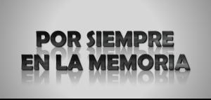 Logotipo Por Siempre En La Memoria