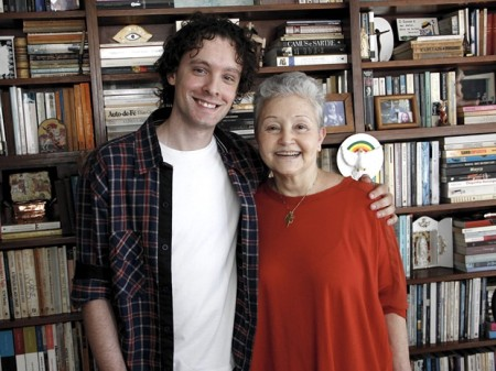 Os autores Maria Adelaide Amaral e Vincent Villari