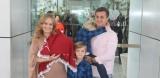 Avião com Huck, Angélica e filhos faz pouso de emergência em CampoGrande