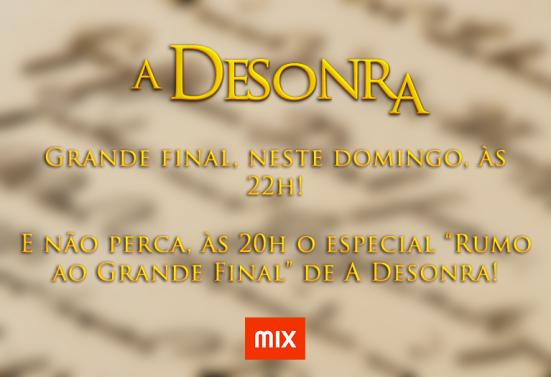 A Desonra - Final